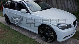 Ветровики BMW 3 Touring (E91) 2006-2012  дефлекторы окон