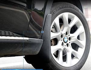 Брызговики полный комплект для BMW X5 E70 с порогами 2007-2013 (полный кт 4-шт), кт.