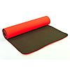 Коврик для йоги и фитнеса Оригинал TPE+TC, двухслойный, 8 мм + Подарок, фото 4