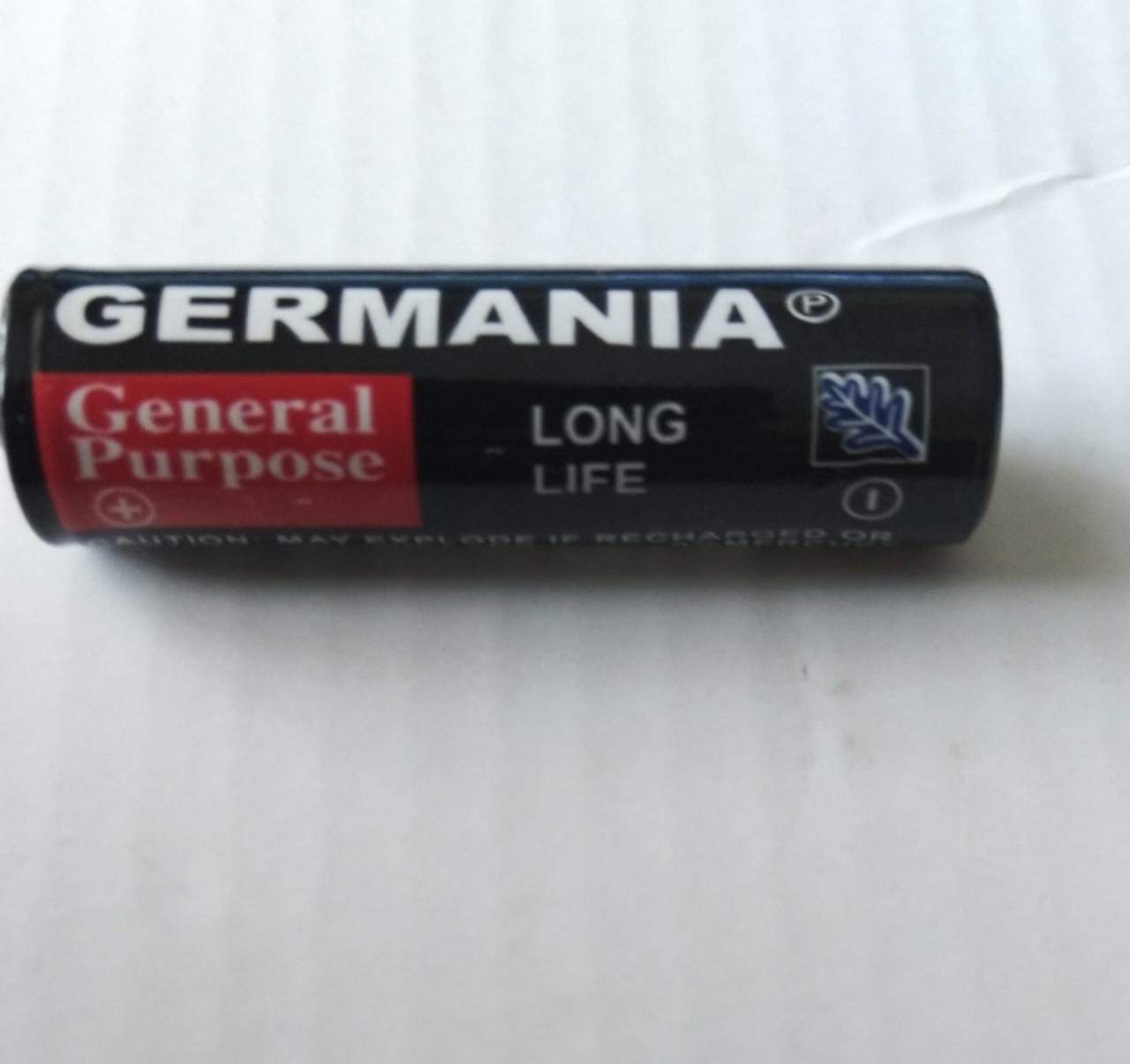Батарейка солевая Germania АА R06 1.5V  Батарейка пальчиковая