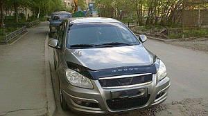Мухобойка, дефлектор капота CHERY M11 (A3) с 2008- г.в.