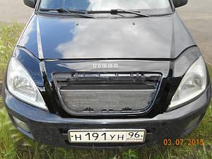 Мухобойка, дефлектор капота CHERY Tiggo (T11) с 2005-2010 г.в.