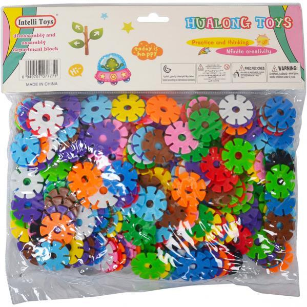 Конструктор Puzzle blocks «Ромашка»