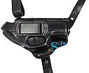 Кобура оперативная из плотной кожи для пистолета Crosman C11 со скобой, накладка на пояс, фото 2