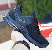 Мужские кроссовки Nike Air Presto весна-осень демисезонные черные летние. Живое фото. Реплика