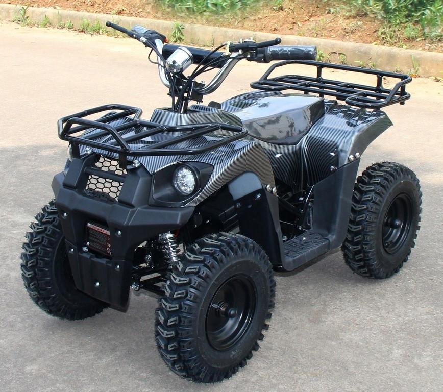 Электроквадроцикл (дитячий) Hummer J-Rider 1000W Сірий