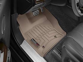Ковры резиновые WeatherTech Range Rover   2013+ передние бежевые