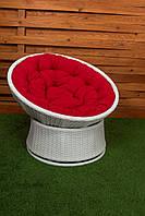 Кресло крутящееся Лези белое, фото 1