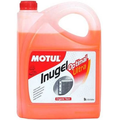 Концентрат антифризу д/авто G12 (помаранчевий) MOTUL Inugel Optimal Ultra 5л. 101070/818106