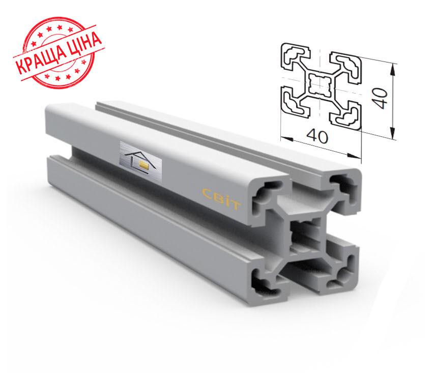 Алюминиевый конструкционный станочный 40х40 без покрытия