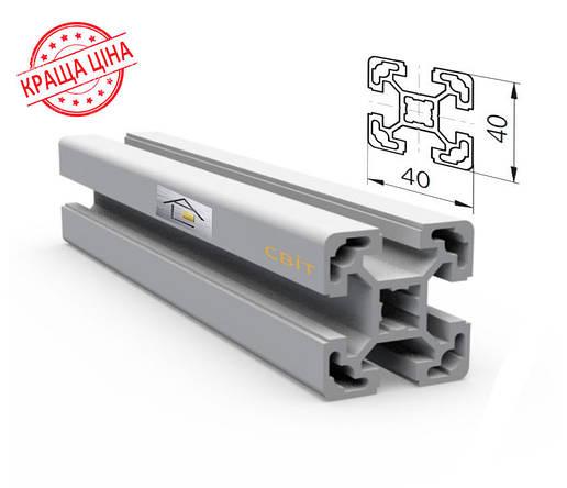 Алюминиевый конструкционный станочный 40х40 без покрытия, фото 2