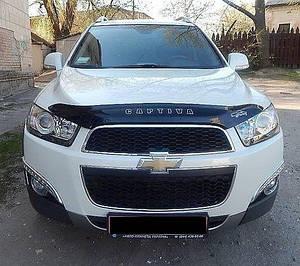 Мухобойка, дефлектор капота Chevrolet Captiva с 2011- г.в.