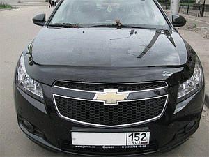 Мухобойка, дефлектор капота Chevrolet Cruze с 2009- г.в.