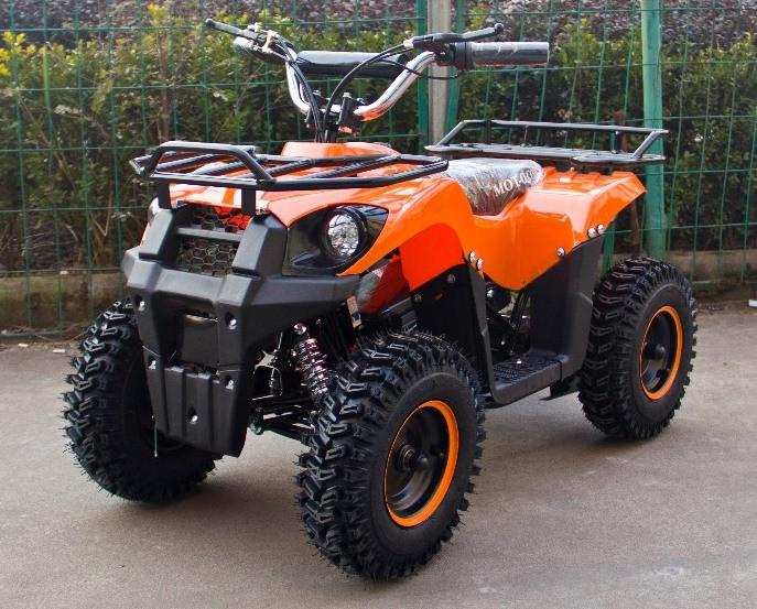 Электроквадроцикл (дитячий) Hummer J-Rider 1000W Помаранчевий