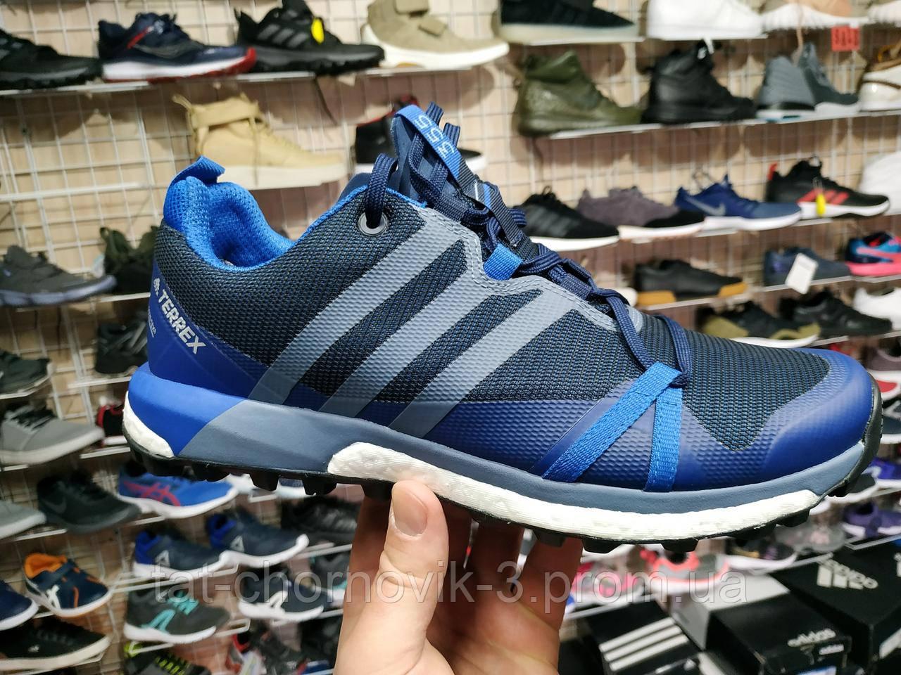 Мужские кроссовки для трейла Adidas Terrex Agravic Gore-Tex art. CM7611