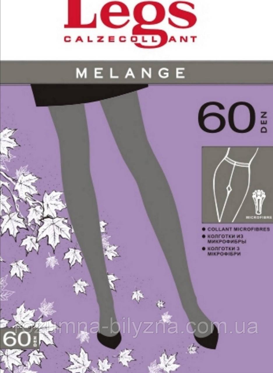 Колготи в кольорі меланж 60 ден TM Legs Розмір 1/2