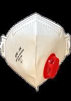 Респиратор белый с клапаном БУК ОРИГИНАЛ защита FFP3 Противовирусная, защита для лица