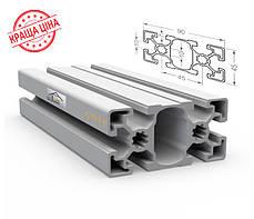 Алюминиевый конструкционный станочный 90х45 анодированный