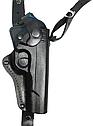 Кобура оперативная кожаная для пистолета ТТ (Тульский Токарева), можно носить на поясе, фото 2