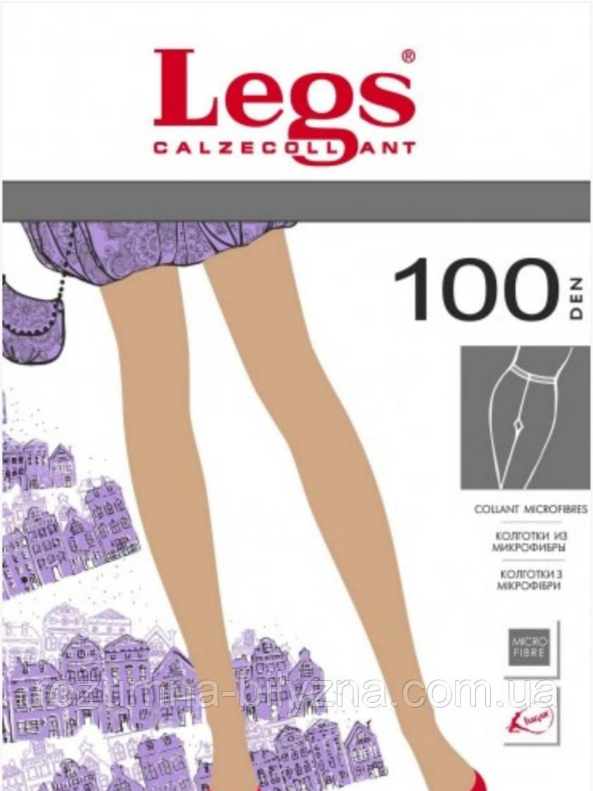 Колготи в кольорі fumo 100 den TM Legs Розмір 1/2