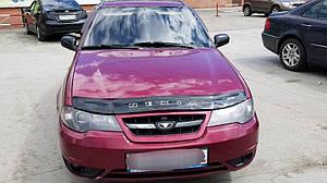 Мухобойка, дефлектор капота DAEWOO Nexia с 1995-2008 г.в.,2008- г.в.