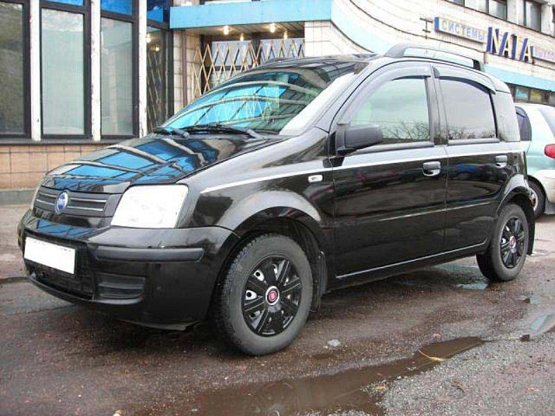 Ветровики Fiat Panda II 2003-2012  дефлекторы окон