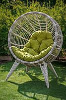 Крісло з штучного ротанга Манго береза, фото 1