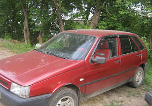 Ветровики Fiat Tipo Hb 5d (160) 1987-1995  дефлекторы окон