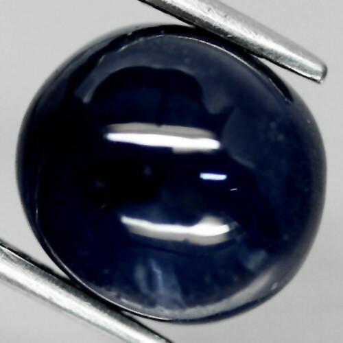 Кабошон сапфир, 10,3*9,3 мм., 8,21 карат, 645КБС