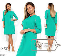 """Сукня жіноча прямого крою мод 613/614 (42, 54) """"SLAVIA"""" недорого від прямого постачальника, фото 1"""