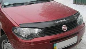 Мухобойка, дефлектор капота Fiat Albea c 2007-2012 г.в.
