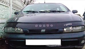 Мухобойка, дефлектор капота Fiat Brava/Bravo (182) с 1995–2001 г.в.