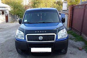 Мухобойка, дефлектор капота Fiat Doblo c 2005-2010 р. в.
