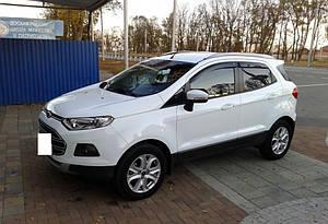 Ветровики Ford EcoSport 2014- дефлекторы окон