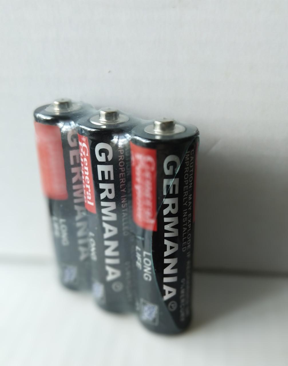 Батарейка солевая Germania АА R06 1.5V  Батарейка пальчиковая (3 шт.)