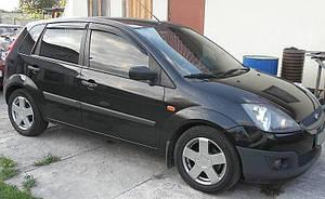 Ветровики Ford Fiesta V 5d 2002-2008  дефлекторы окон