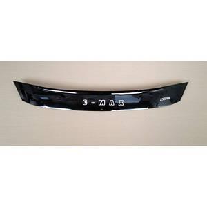 Мухобойка, дефлектор капота FORD C-MAX с 2010- г.в.(короткая)