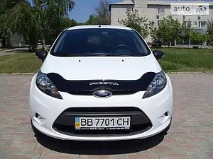 Мухобойка, дефлектор капота FORD Fiesta с 2008-2012 г.в