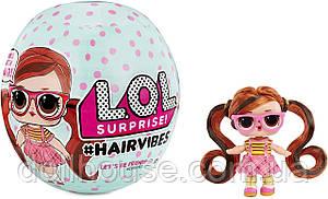 Акция L.O.L SURPRISE! Модные прически Hairvibes КУКОЛКА ЛОЛ СО СМЕННЫМИ ПАРИКАМИ  564744
