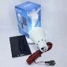 Лампа портативная с солнечной зарядной панелью. Лампа туристическая с солнечной зарядкой, фото 10