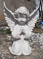 Скульптура Ангел на коленях №111 - 35 см из мрамора
