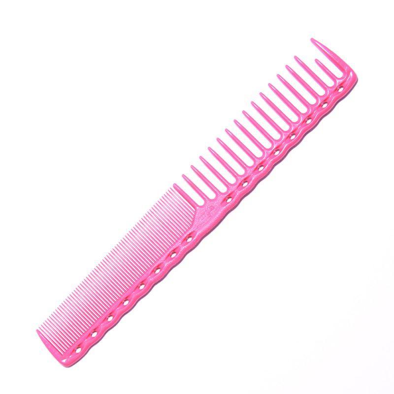 Расческа планка Y.S. Park YS-332 Pink со скругленными зубцами L=185 мм