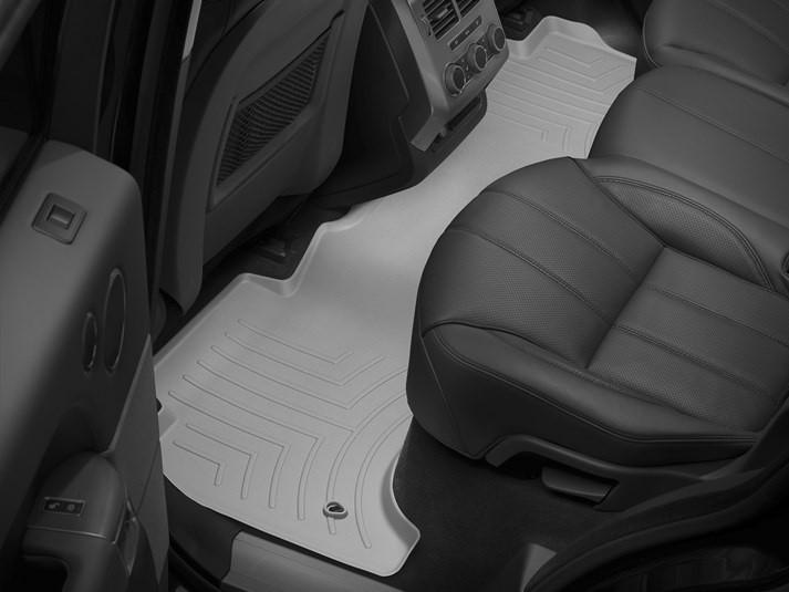 Ковры резиновые WeatherTech Range Rover Sport 2014+ задние серые