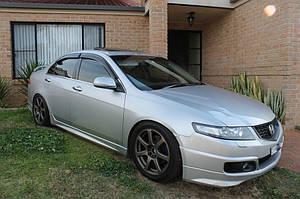 Ветровики Honda Accord VII Sd 2003-2007/Acura TSX 2003-2007  дефлекторы окон