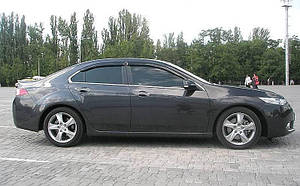 Ветровики Honda Accord VIII Sd 2008-2013 /Spirior Sd 2009  дефлекторы окон