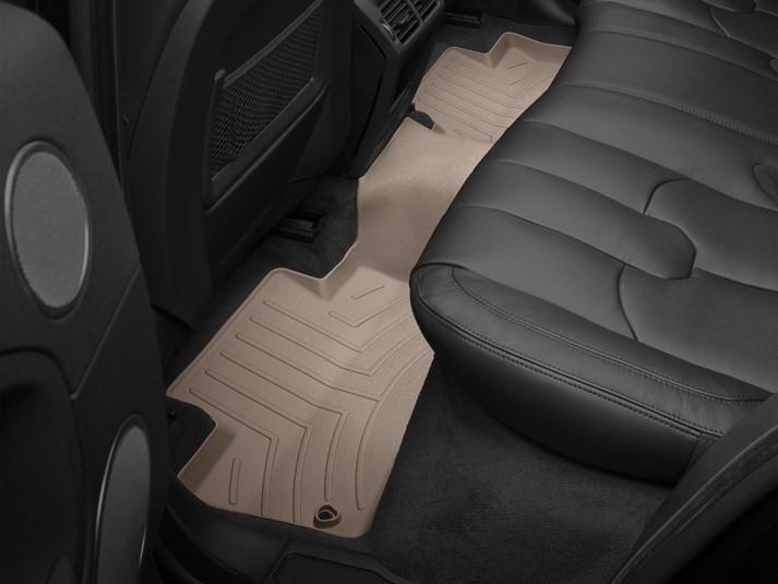 Ковры резиновые WeatherTech Range Rover Sport 2014+ задние бежевые