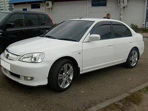Ветровики Honda Civic VII Sd 2001-2005  дефлекторы окон