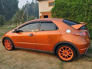 Ветровики Honda Civic VIII Hb 5d 2006-2011  дефлекторы окон