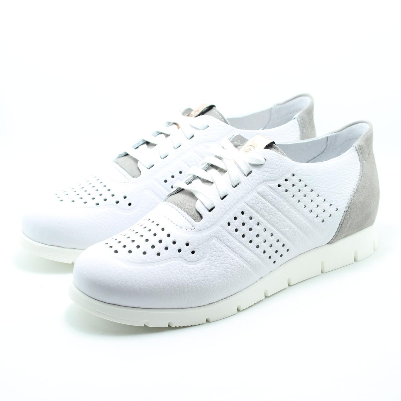 Женские белые кроссовки Giatoma Niccoli 05-0480-01