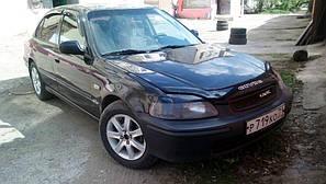 Мухобойка, дефлектор капота HONDA Civic с 1995-2000 г.в.(европа)
